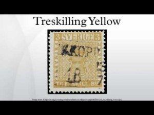 Treskilling Yellow