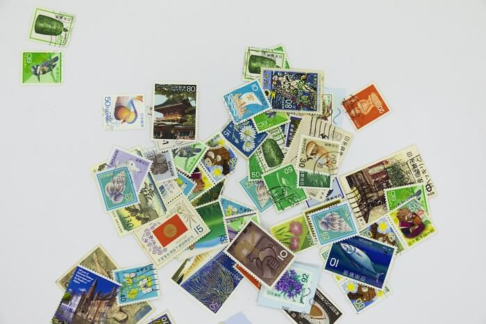 切手買取使用済み消印